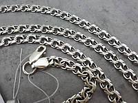 Серебряная цепочка бисмарк. Серебро 925°, 18 грамм. срібний ланцюжок