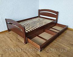 """Полуторная кровать из натурального дерева """"Марта"""" от производителя, фото 3"""