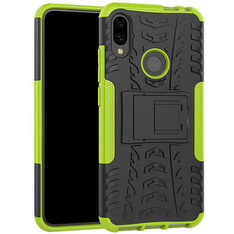 Чохол-накладка Shield для Xiaomi Redmi 7 Протиударний Зелений (968822), фото 2