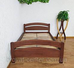 """Полуторне ліжко з масиву натурального дерева """"Березня"""" від виробника, фото 3"""