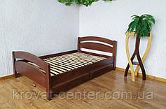"""Деревянная полуторная кровать с изножьем """"Марта"""" от производителя, фото 3"""