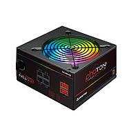 CTG-650C-RGB Блок питания CHIEFTEC RETAIL Photon CTG-650C-RGB,12cm fan,a/PFC,24+8,4xPeripheral,6xSATA,4xPCIe, CTG-650C-RGB