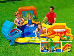 Надувной игровой центр Intex Dinosaur Play Center 249х191х109 см