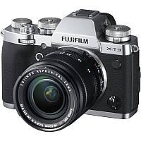 16589254 Цифр. фотокамера Fujifilm X-T3 + XF 18-55mm F2.8-4.0 Kit Silver, 16589254