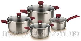 Набор посуды из нержавеющей стали 8 предметов Rondell Strike RDS-818
