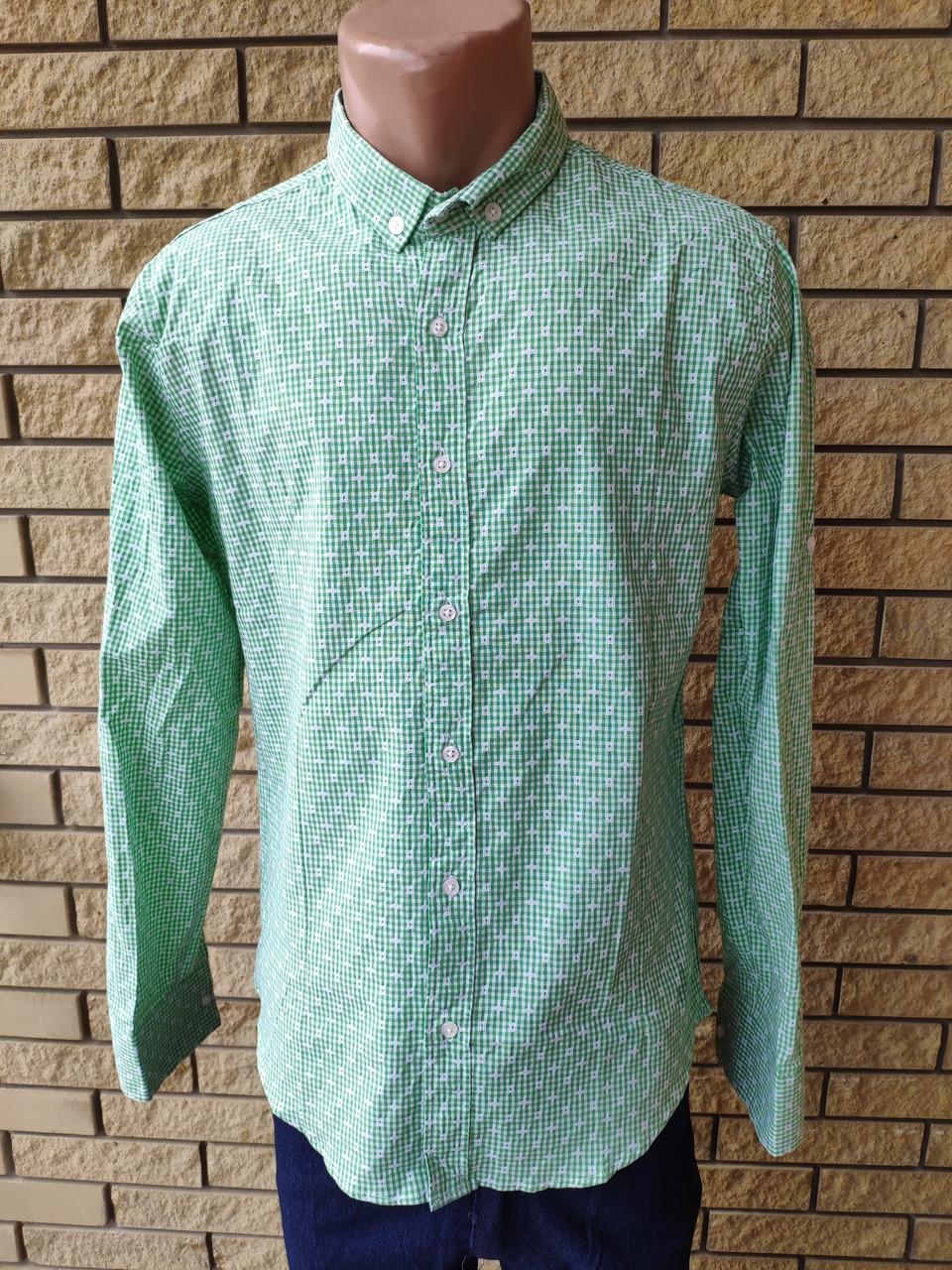 Рубашка мужская коттоновая брендовая высокого качества PART TIME, Турция