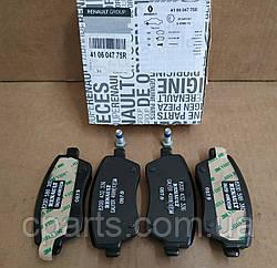 Колодки гальмівні передні Renault Duster 1.5 DCI, 1.6 16V (4x2)(оригінал)