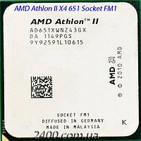 Процессор AMD Athlon II X4 651 3.0GHz/ 4MB (AD651XWNZ43GX) Socket FM1