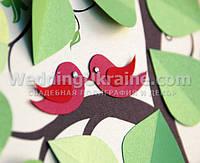 Дерево пожеланий  с птичками
