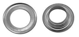 Люверсы металлические №600, цв. серебро (2000 шт / уп.)