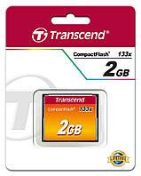 TS2GCF133 Карта памяти Transcend  2GB CF 133X, TS2GCF133