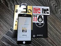 Защитное стекло на  iPhone  7 plus 3D iMAX black ОРИГИНАЛ