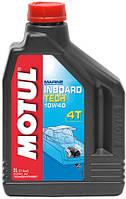 Масло для дизельных 4-х тактных двигателей водной техники MOTUL INBOARD TECH 4T SAE 10W40 (2L)