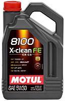 Масло моторн. Motul 8100 X-clean FE 5W-30  4l 814107