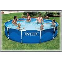 Бассейн каркасный с фильтр-насосом Intex (6503 л.)