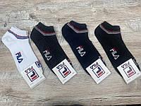 Набір спортивних шкарпеток 12 пар, упаковка (шкарпетки в стилі FILA ),41-45 розмір, фото 1