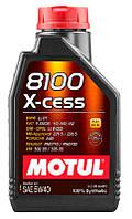 Масло моторн. Motul 8100 X-cess 5W-40 1l 102784