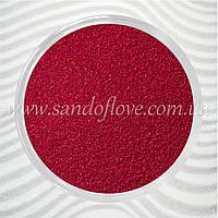 Бордовый (вишневый, марсала) цветной песок