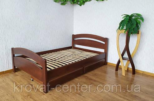 """Полуторная кровать """"Марта"""" с изножьем и ящиками, фото 2"""