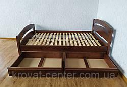"""Полуторная кровать """"Марта"""" с изножьем и ящиками, фото 3"""
