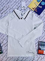 Школьная блузка для девочек от 10 до 14 лет.
