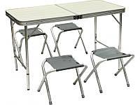 Складной стол со стульями для пикника, фото 1