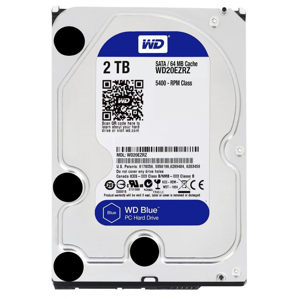 """Жесткий диск 3.5"""" 2TB Western Digital (WD20EZRZ)"""