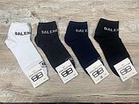 Набор  спортивных носков 12 пар, упаковка (носки в стиле BALENCIAGA ), 41-45 размер