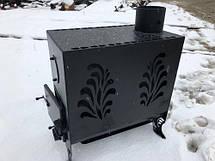 """Печь на дровах """"Буржуйка"""" с двойной топочной камерой, фото 3"""