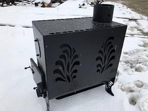 """Печь на дровах """"Буржуйка"""" с двойной топочной камерой, фото 2"""