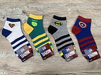 Набор  спортивных носков 12 пар, упаковка (носки в стиле MARVEL), 36-41 размер