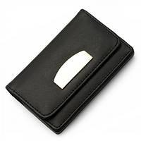 Визитница карманная с магнитной застежкой эко-кожа, розница + опт \ es - 95871701