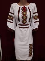 """Вышыванка платье женское лен домотканый   """"Марийка 2"""""""
