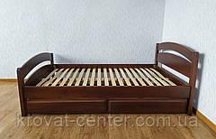"""Кровать двуспальная с выдвижными ящиками из дерева """"Марта"""" от производителя, фото 2"""