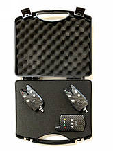Набор электронных сигнализаторов клева Big Fish, модель 526, 2шт + пейджер