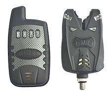 Набір сигналізаторів клювання електронних Big Fish, модель 528, 4шт + пейджер