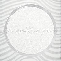 Белый цветной песок для песочной церемонии  для свадебной песочной церемонии, фото 1