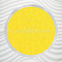 Желтый цветной песок для свадебной песочной церемонии