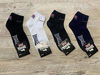 Набір спортивних шкарпеток 12 пар, упаковка (шкарпетки в стилі LONSDALE ), розмір 36-41, фото 1