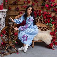 """Вышыванка платье женское """"Жар птица"""""""
