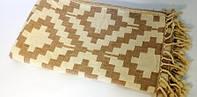 Полотенце для сауны и пляжа Пештемаль 100*165 см с бахромой