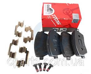 Колодки гальмівні передні Renault Duster 1.5 DCI, 1.6 16V (4x2)(TRW GDB3332)(висока якість)