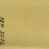 Рулонная штора Лён (830х1600). Желтый. 2072