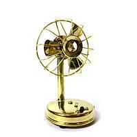 Вентилятор ретро  бронза (17,5х9,5х9 см)