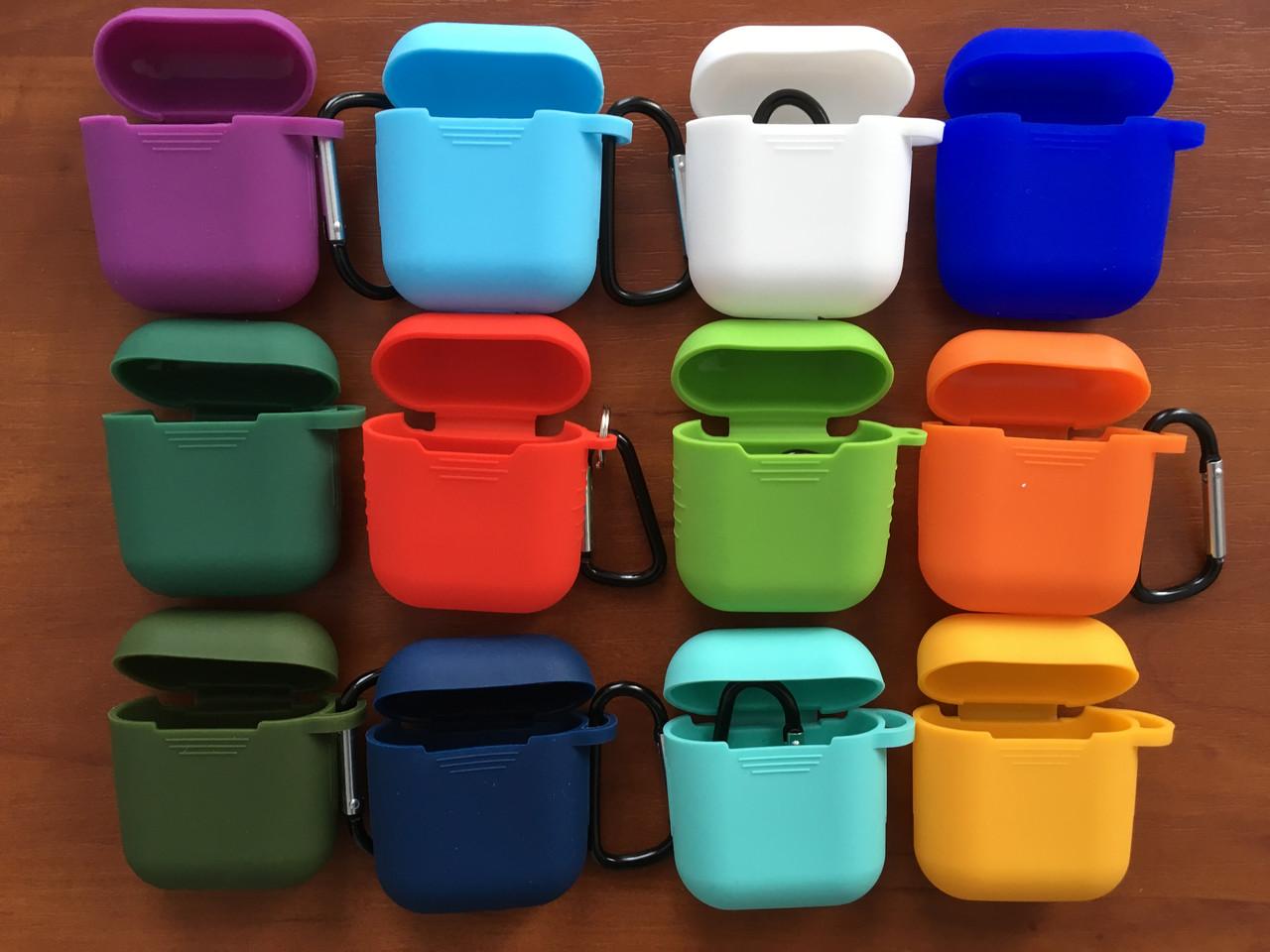 Чехол-накладка силикон Карабин Thin  для Apple AirPods