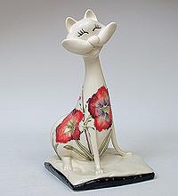 """Фарфорова фігурка """"Кіт"""" (Pavone) JP-155/11"""