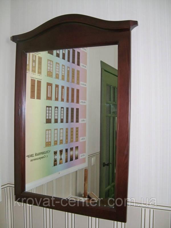 """Зеркало для спальни в деревянной рамке """"Микель"""""""