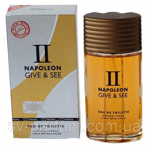 Туалетная вода мужская Napoleon | | Give & See 100ml