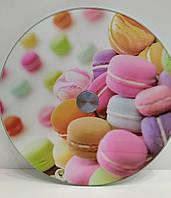 Подставка стол поворотная для торта стекло 30см, фото 1