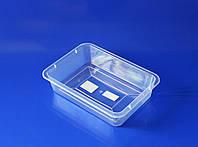 Лоток пищевой прозрачный Ал-Пластик №0 (1,7л)